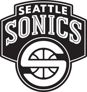 Seatle Sonics decal 98
