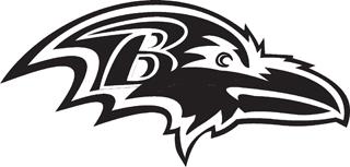 Baltimore Ravens Decal