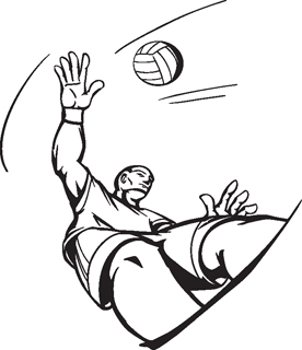 Volleyball Player1