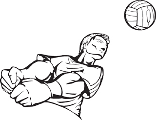 Volleyball Player7