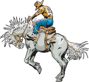 Rodeo Horse Rider