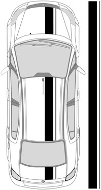"10.5"" Dual Racing Stripes"