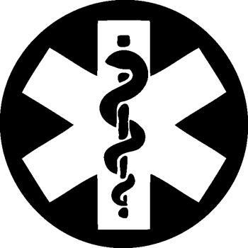 Pharmacy Symbol decal 1