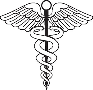 Physician Symbol Decal