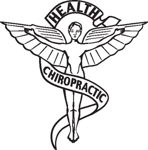 Chiropractic 1 Symbol Decal