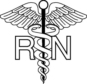 Nursing Symbol Decal
