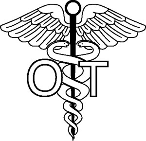 Occupational Therapist Symbol Decal