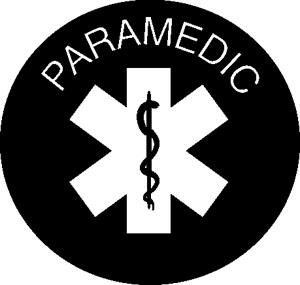 Paramedic Symbol Decal