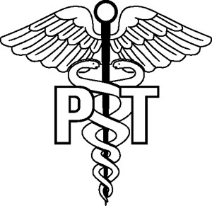 Physical therapist Symbol Decal