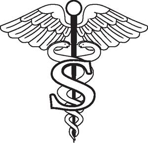 Sports medicine Symbol Decal