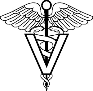 Veterinarian Symbol Decal