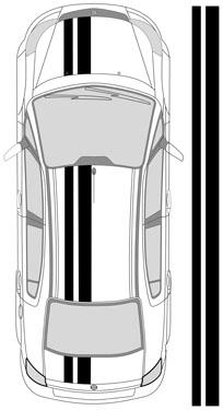 "12""_1 Dual Racing Stripes"
