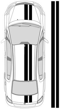 "13""_1 Dual Racing Stripes"