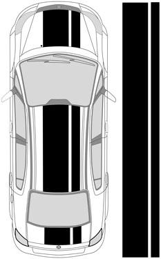 "26"" Dual Racing Stripes"