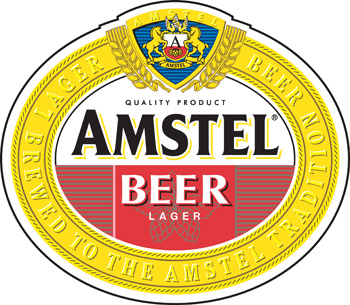 Amstel Lager Vinyl Decal