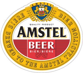 Amstel Beer Vinyl Decal