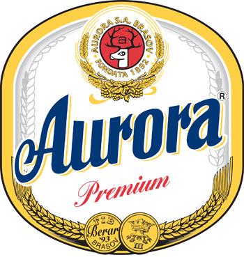 Aurora Premium Beer Vinyl Decal