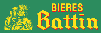 Battin Beer vinyl decal