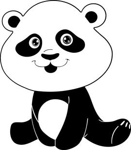 Panda Baby Girl
