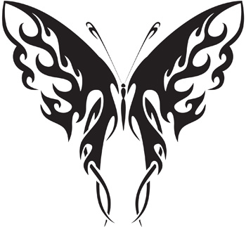 Tribal Butterfly 10