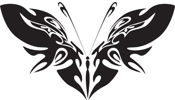 Tribal Butterfly 11