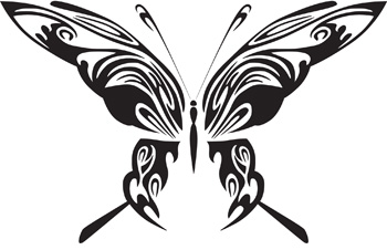 Tribal Butterfly 17