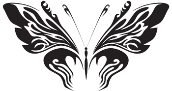 Tribal Butterfly 20