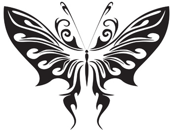 Tribal Butterfly 27