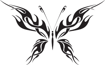 Tribal Butterfly 29