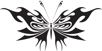 Tribal Butterfly 33