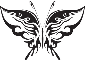 Tribal Butterfly 38