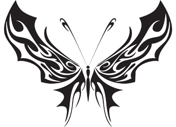 Tribal Butterfly 4