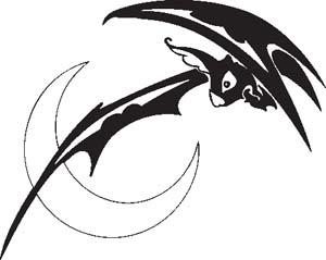 Tribal Bat 3