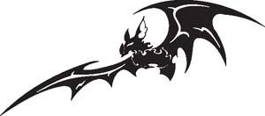 Tribal Bat 7