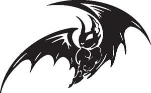 Tribal Bat 18
