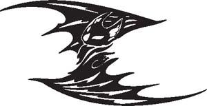 Tribal Bat 19