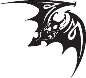 Tribal Bat 20