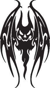 Tribal Bat 22