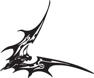 Tribal Bat 38