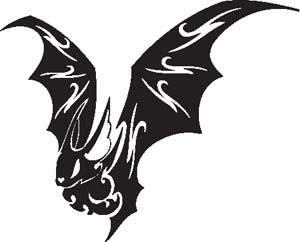 Tribal Bat 50