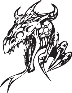 Dragon decal 84