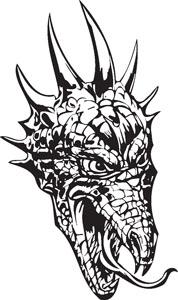 Dragon decal 85