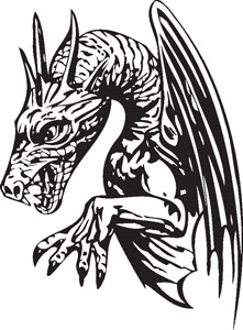 Dragon decal 87