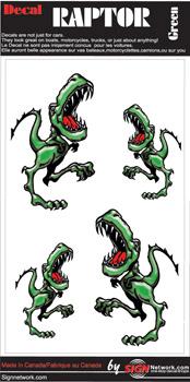 Green Raptor Set