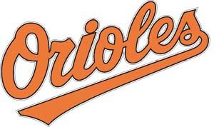 Baltimore Orioles decal 98