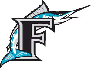 Florida Marlins decal 2000