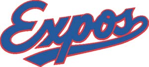 Montreal Expos decal