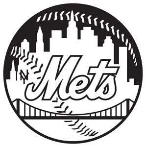 new york mets decal 97 blk