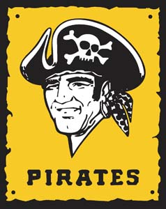 pittsburgh pirates decal 94