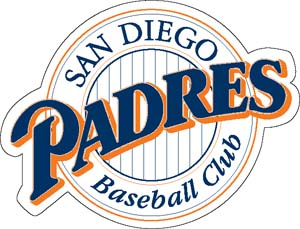 San Diego Padres decal